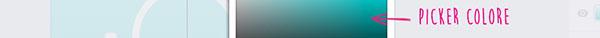 Panoramica del pannello colore