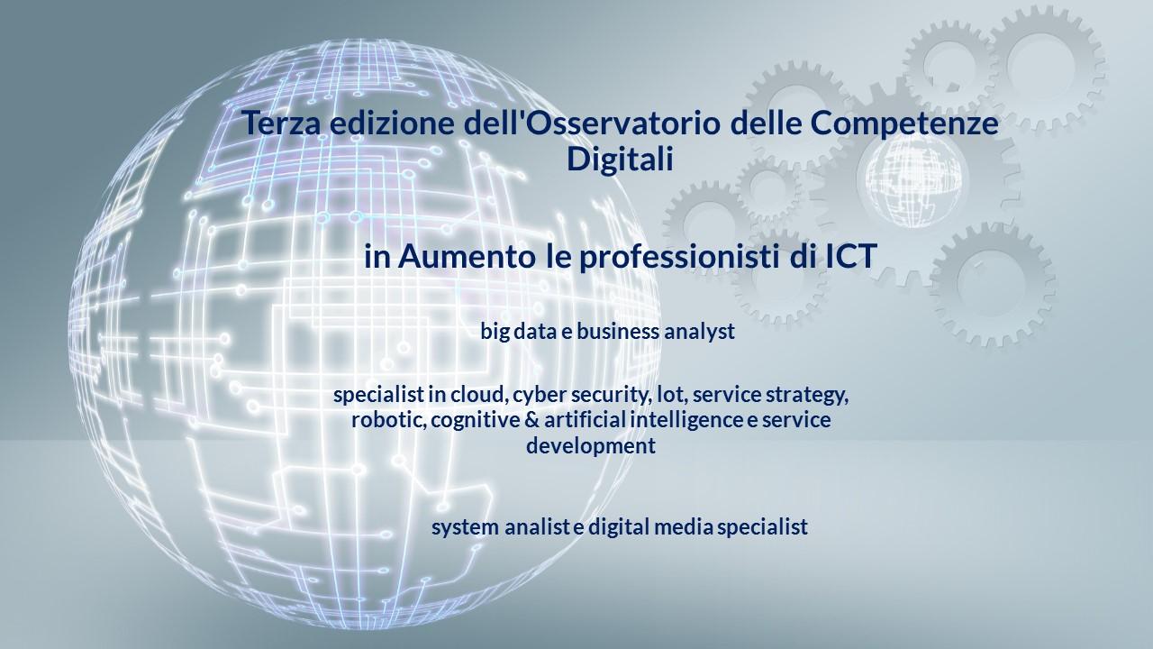 Professionisti ICT: aumenta la domanda, poca l'offerta