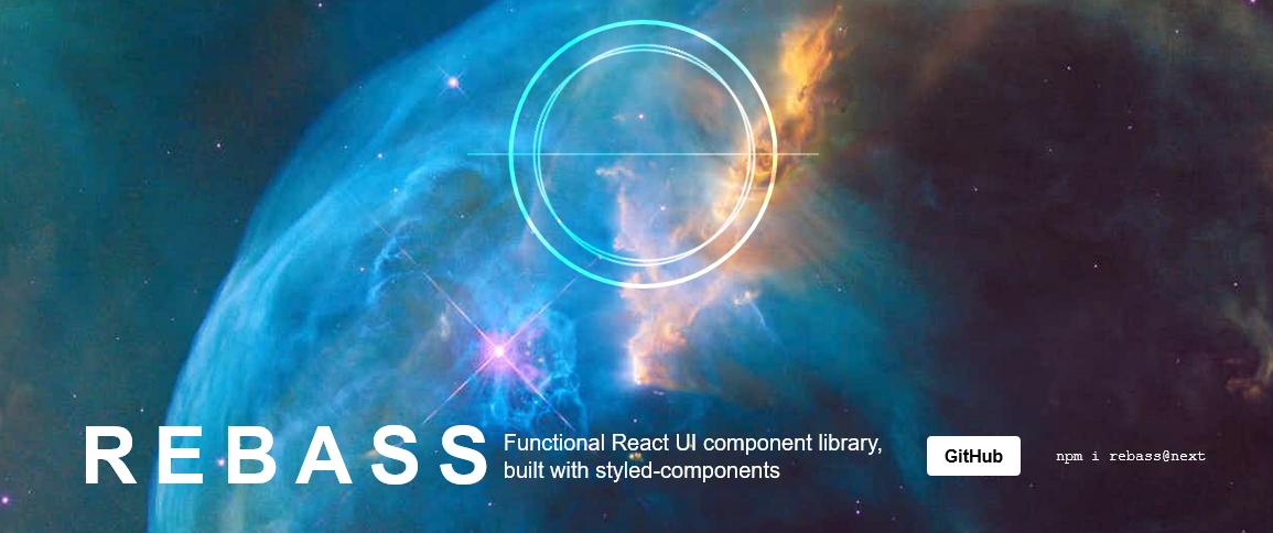 Rebass: componenti stilizzati per React