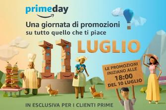 Amazon Prime Day, le offerte dell'11 luglio