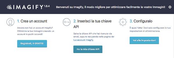 Imagify install