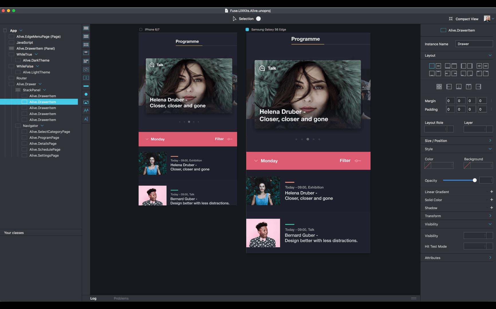 Creare App native con Fuse