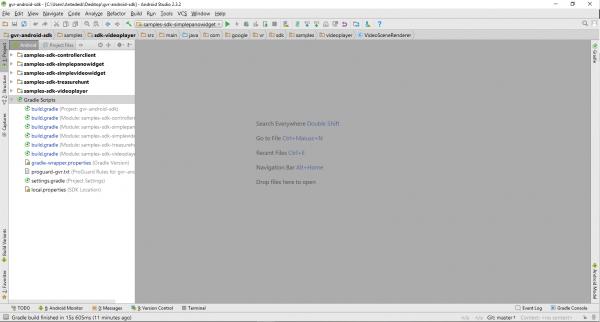 Progetto GVRSDK su Android Studio