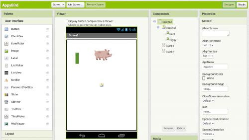 App Inventor: creare App Android con un linguaggio visuale