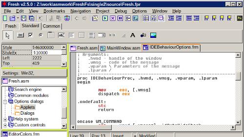 Fresh IDE per programmare in assembly (e non solo)