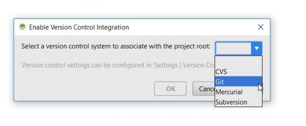 Attivazione di un sistema di Version Control