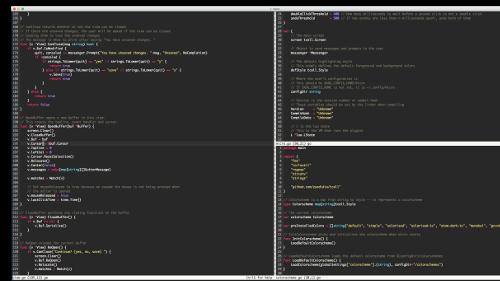 micro: un text editor terminal-based