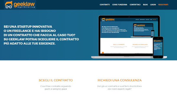 Interfaccia Geeklaw
