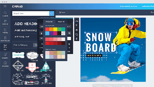 Crello, un Graphic Design Tool Cloud-Based