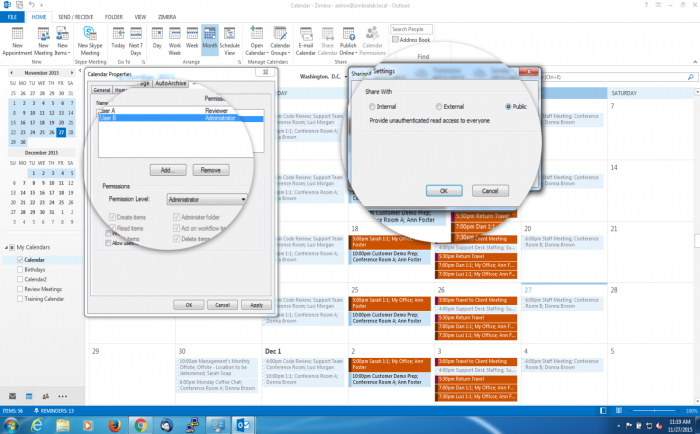 Zimbra-Collaboration-ZCO-Outlook-Calendar