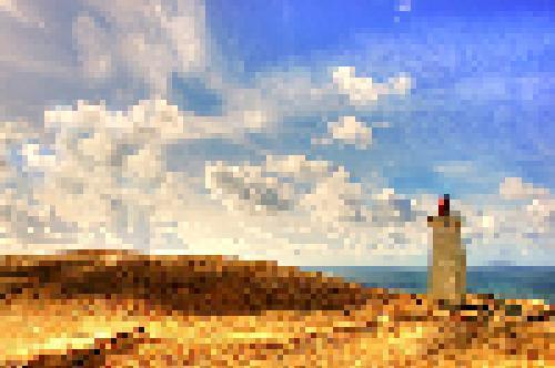 Filtro effetto pixelato