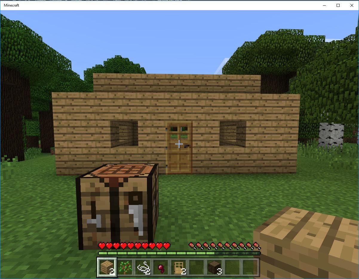 Lastra Di Legno Minecraft : Tutorial casa di legno minecraft tutorial casa di legno minecraft