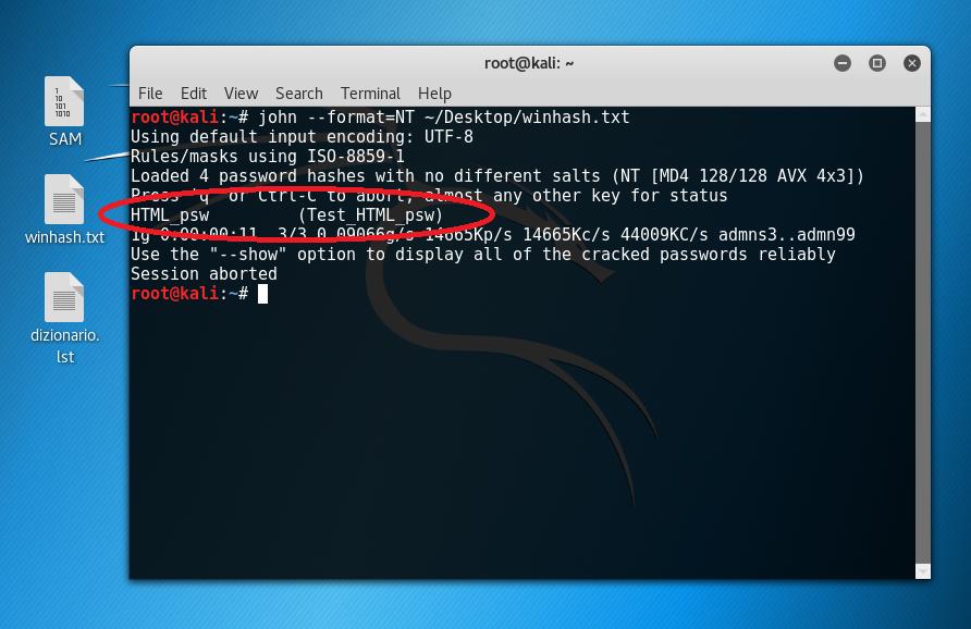 John The Ripper: attacco alle password | Sicurezza HTML it