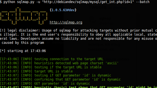Sqlmap: penetration test automatizzati per i database SQL
