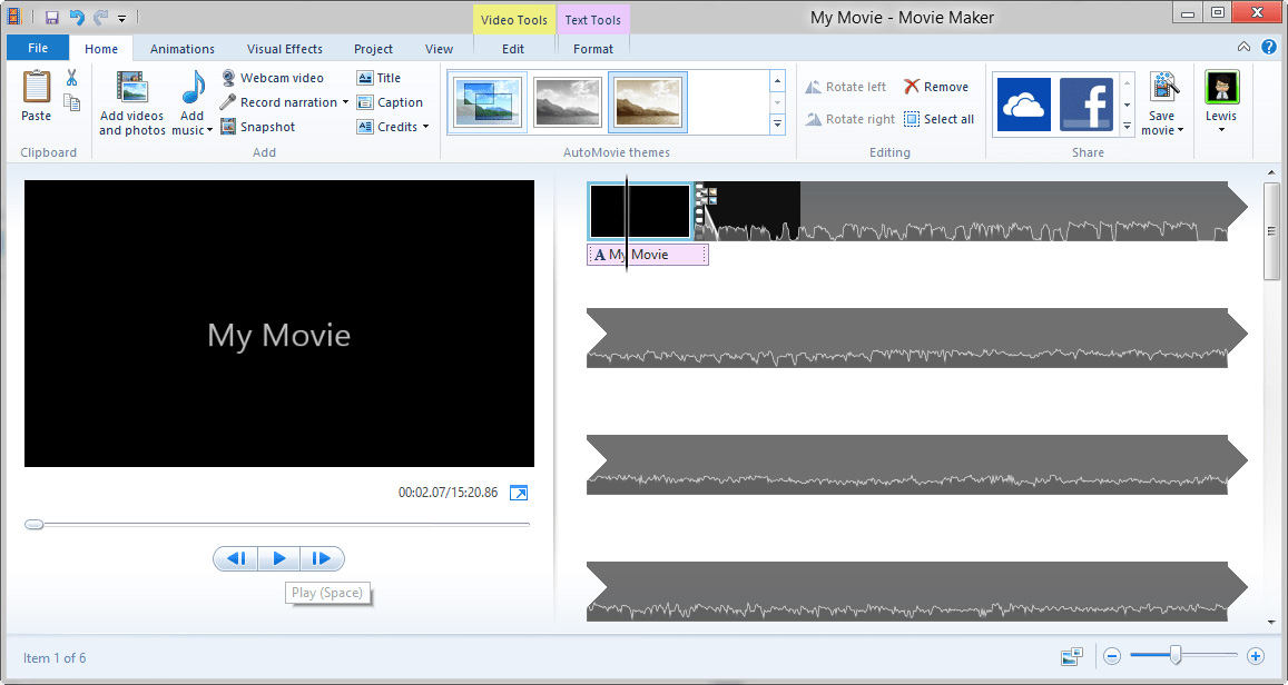 effetti speciali per windows movie maker