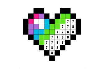 Libro da Colorare con Numeri – Color by Number