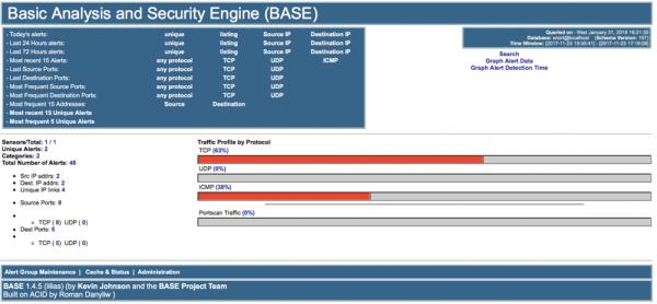 Home page di BASE