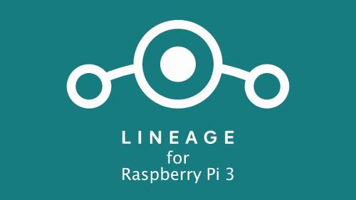 """Android 8.1 """"Oreo"""" su Raspberry Pi 3 con su LineageOS"""