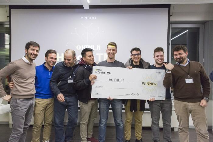 Triboo_Vincitori Hackathon