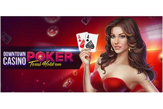 Downtown Casino: Texas Hold'em Poker