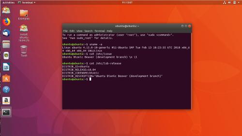 Minimal Ubuntu per lo sviluppo su Cloud