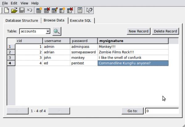 Clonazione del database
