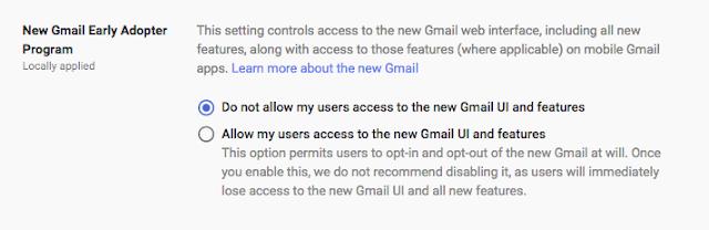 Gmail EAP 1
