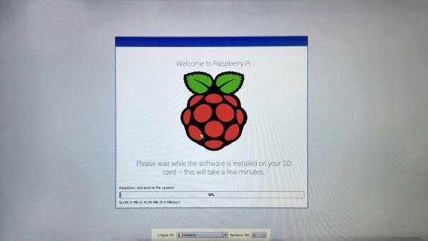 Installazione di Raspbian