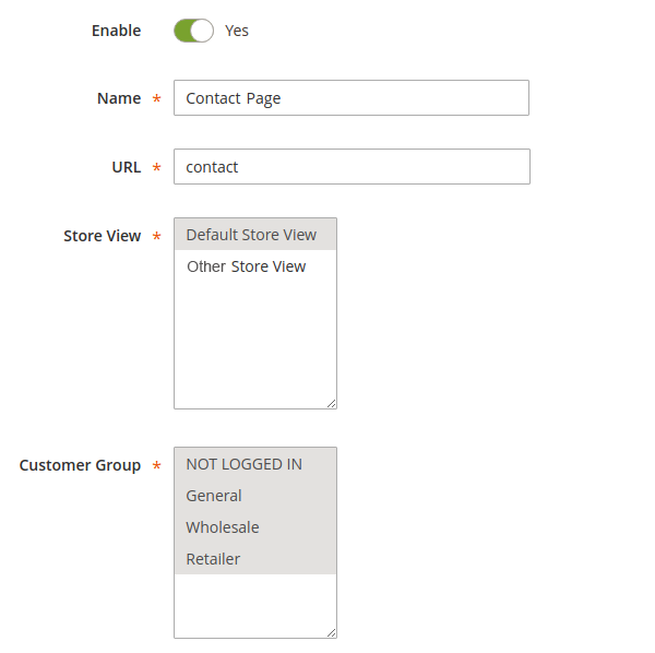 Magento Force Login