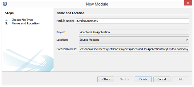 Module Application