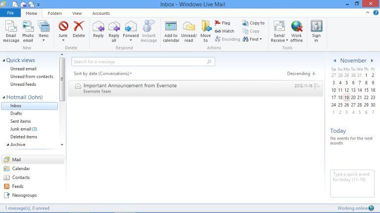 Come inserire la firma su Windows Live Mail | Download HTML it