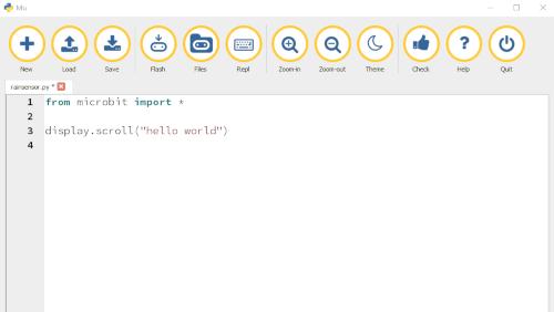 Mu:  Python code editor per i neofiti