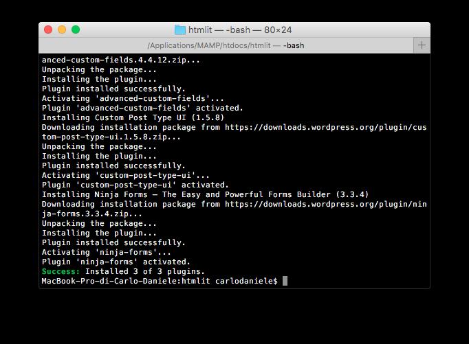 wp plugin install