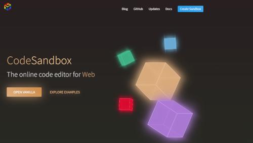 CodeSandbox: code editor online per lo sviluppo in JavaScript