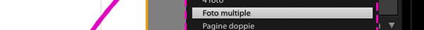 Modificare il layout di una singola pagina
