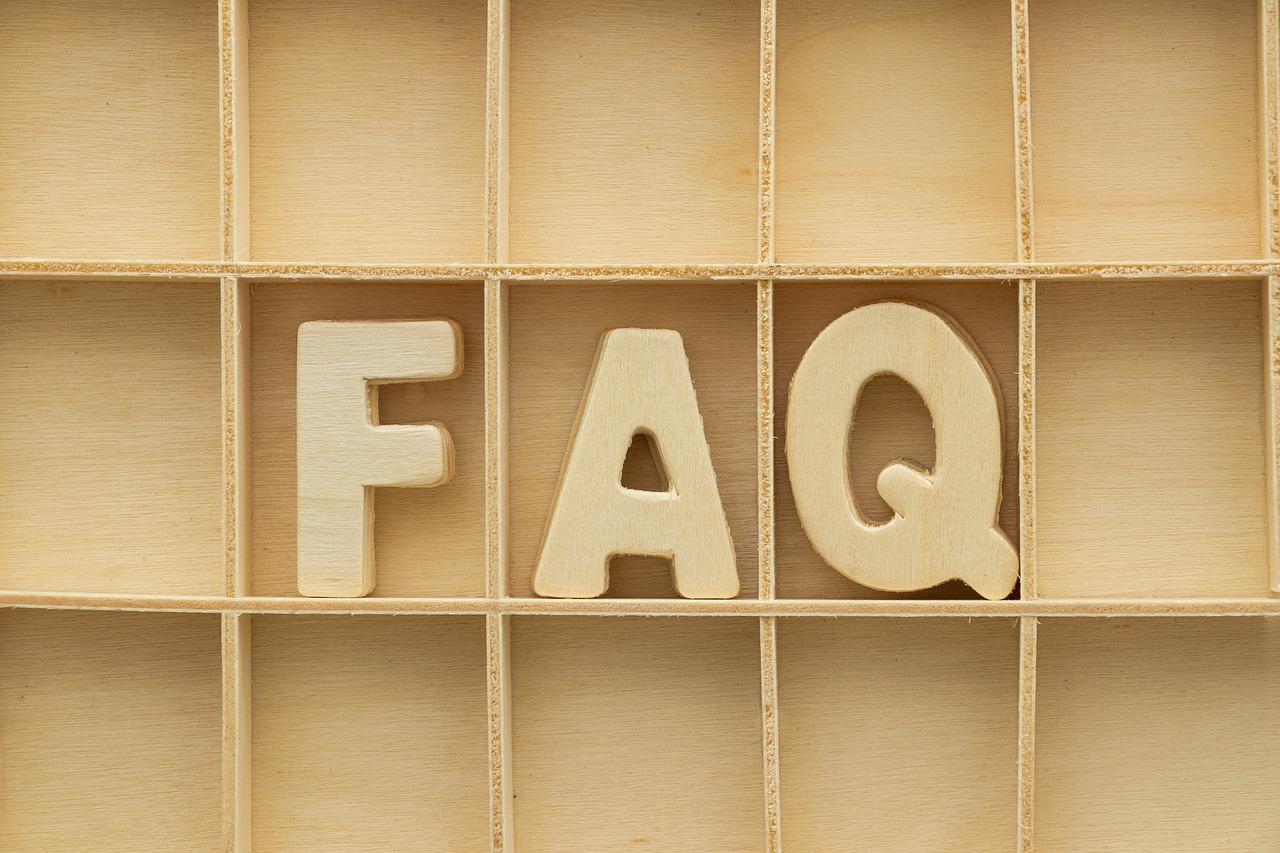 Pagina delle FAQ: consigli per realizzarla