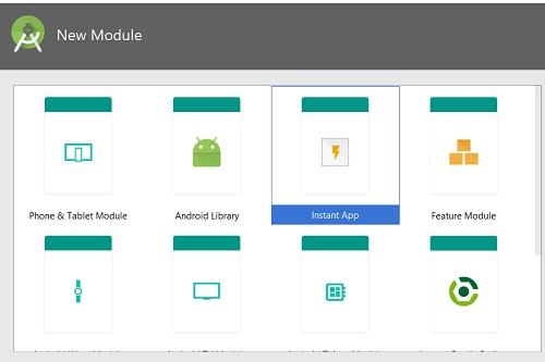 Creazione di un modulo Instant App