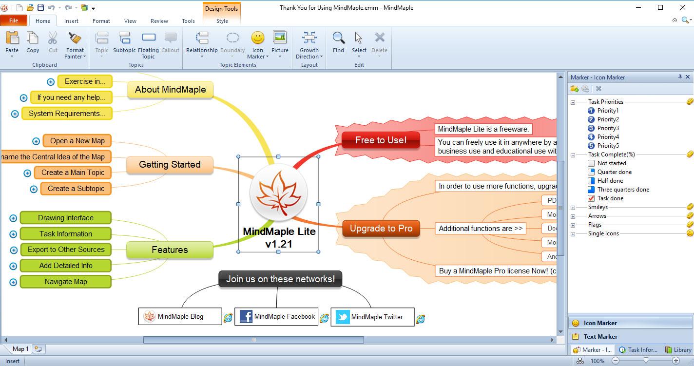Mindmaple For Mac