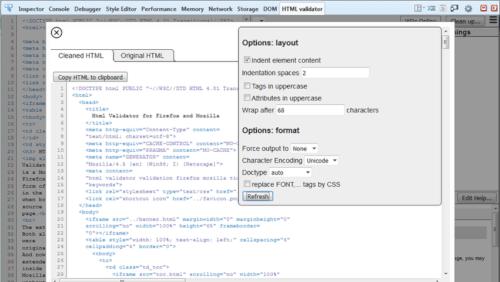 HTML-Validator