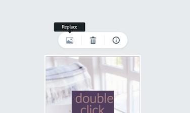 Sostituzione dell'immagine di sfondo su Adobe Spark