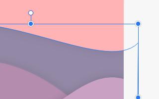 Creazione delle colline da forma su Gravit