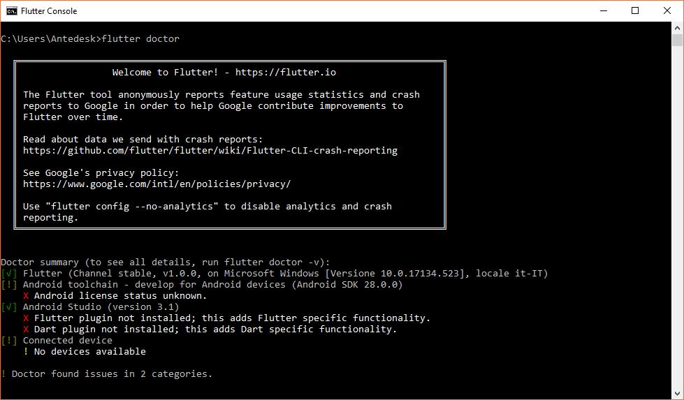 Flutter, installarlo su Windows: come fare   Mobile HTML it