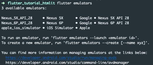 Lista di emulatori disponibili