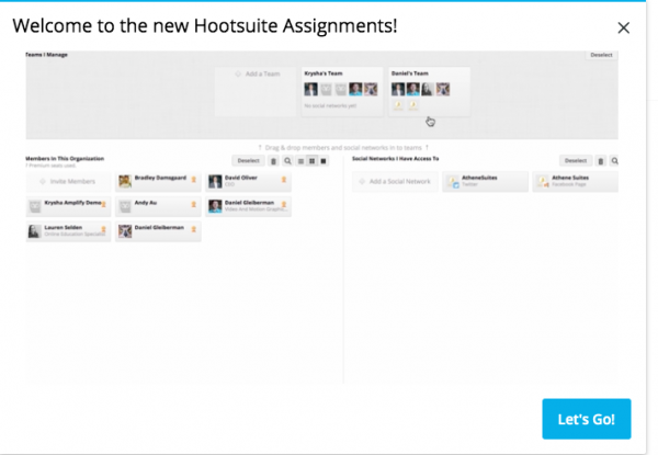 Hootsuite e le funzionalità di lavoro in team