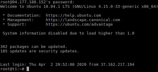 Accesso alla macchina virtuale tramite SSH