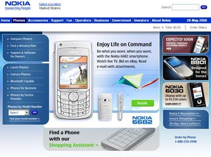 Sito Nokia US