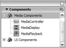 Finestra del media controller