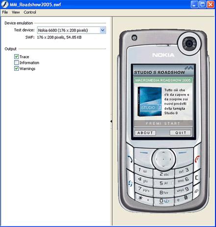 Emulatore di telefonino