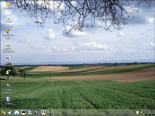 Il Desktop di PCLinuxOS