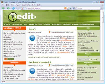 Firefox 2 Autodiscovery